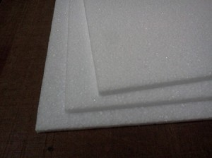 1 9 lb 9mm EPP foam (3) sheets