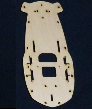 HYPER-QUAD 350QX Spare bottom plate