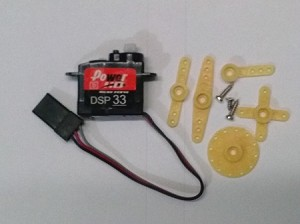 2.9g Digital Servo / micro connector